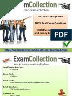 CAS-002 Confirmed exam Questions
