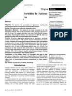 Psychiatric Co Morbidity in Patients of Hepatitis B Virus