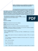 10 Assessing Validation Parameters for Reference and Acceptable Procedures ESPAÑOL