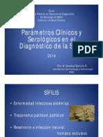 ISP Parametros Clinicos y de Laboratorio de La Sífili