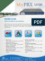 MyPBX U100 Datasheet En