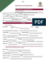 Formulario de Inscripción Rev 15 V4 General BV for IRCA Seguridad y Salud