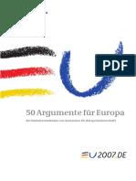 50 Argumente Fuer Europa