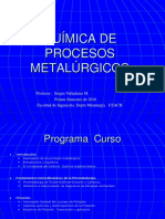 Introduccion Q. Metalurgia 1S