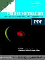 Brandner W., Klahr H. (eds.) Planet formation (CUP, 2006)(ISBN 0521860156)(O)(320s)_PA_.pdf