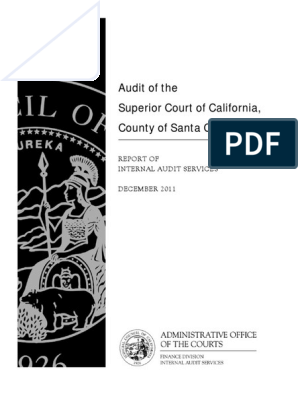 Final Audit Report Santa Clara 2011 2012-06-05   Audit