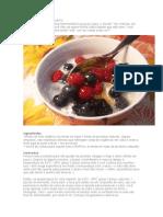 Iogurte orgânico caseiro