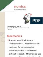 Mnemonics PowerPoint.pptx [Repaired]