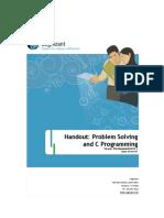 Problem Solving and C Programming_-_Handout_v2[1].1