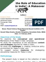 'Make in India'(1)