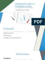 1. Introducción a La Metodología de La Investigación