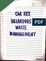 Hazardous Waste Notes