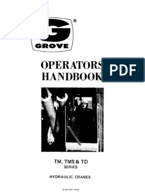 Tms474 Operation(1) | Wire | Rope