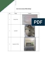 Alat Laboratorium Mikrobiologi