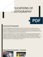 applications of photography