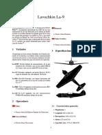 Lavochkin La 9
