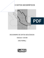 Diccionario de Datos Geologicos