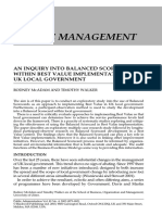 4. McAdam2003 an Inquiry Into Balanced Scorecards Within Best Value Implementation in UK Local Government