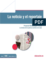 Generos Periodisticos Reportaje
