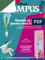 Le Monde-Campus Novembre 2016