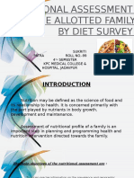 Diet Survey (SUKRITI)