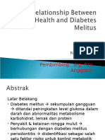 The Relationship Between Rongga Mulut Health and Diabetes
