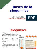 Bases de La Bioquimica