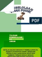 PENGELOLAAN TANAH PUCUK