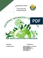 Informe de Educación Ambiental.