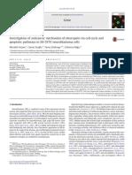 Mekanisme Antikanker Oleuropein Pada Siklus Sel Jalur Apoptosis SH-SY5Y NEUROBLASTOMA
