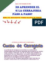 _ Curso de Cerrajeria