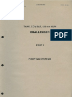 """Tank, Combat, 120 mm GUN, Challenger"" - Part 2 ""Fighting Systems"""