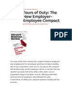 Hoffman, Casnocha, Yeh - Tours of Duty, The New Employer-Employee Compact