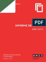 Informe g Nero 2015