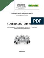 Cartilha de Patrimônio Ifc Campus Camboriu