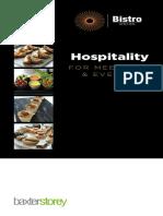 Oriam - Hospitality Brochure