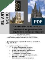 CARACTERISTICAS DE LA ARQUITECTURA GOTICA.ppt