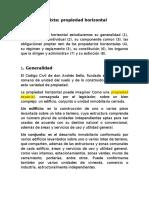 Propiedad Horizontal EXPOCISION CIVIL Lista