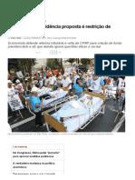 _Reforma Da Previdência Proposta é Restrição de Direitos Básicos_ — CartaCapital