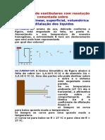 Exercicios Dilatação Linear, Superficial, Volumétrica e Dilatação Dos Líquidos