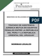 Tratado de Asistencia Juridica Mutua en Asuntos Penales Entr Convenio Tratado de Asistencia Juridica