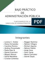 Trabajo Práctico Curso Administracion Publica
