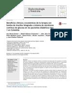 Beneficios Cl Nicos y Econ Micos de La Terapia Con Bomba de Insulina Integrada a Sistema de Monitoreo Continuo de Glucosa en Los Pacientes Diab Ticos