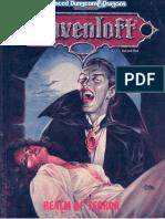 Ravenloft - Realm of Terror (Black Boxed Set) v2nd