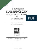 Die römischen Kaisermünzen als Geschichtsquellen / von E. A. Stückelberg