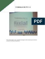 Tuberias de Pvc
