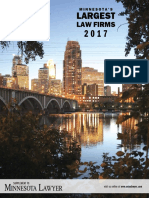 Minnesota Largest Law Firms 2017