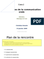 Les Principes de La Communication Orale Pour Les Etudiants