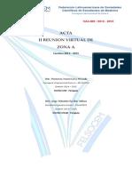 Acta II RV Zona A