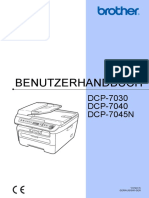 Instruction Dcp7030 German